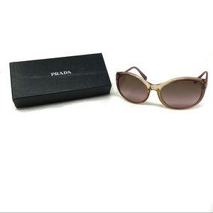 PRADA Oversized Gradient Frame Sunglasses SPR09N